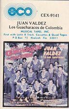 Los Guacharacos de Colombia Juan Valdez Cassette New Sealed