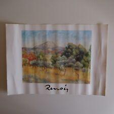 Auguste RENOIR Montagne Sainte Victoire 1889 EGIM reproduction n°178