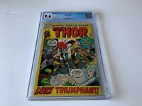 THOR 194 CGC 9.6 WHITE PAGES LOKI TRIUMPHANT MARVEL COMICS 1971