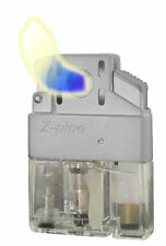 Z Plus! Pipe Lighter Butane Insert, Single Flame, Refillable, Soft Flame