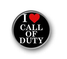 "CALL OF DUTY / 1"" / 25mm pin button / badge / gaming / Xbox / Playstation / fun"