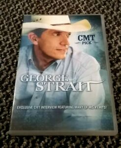 GEORGE STRAIT - CMT INSIDER SPECIAL EDITION CMT PICK SERIES DVD (REGION 1) RARE