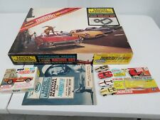 Rare Stirling Moss Aurora Thunder Jet 500 motor Set 5 Cars HO slot car blister