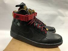 Nike Dynasty High 388986 001 12 Black Varsity Mighty Crown Red NEW DS
