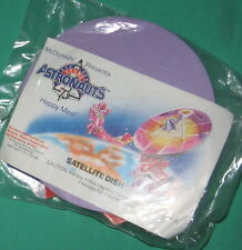 McDonald's Young Astronauts 2 Satellite Dish 3-D Puzzle Toy MIP 1992 Free Ship
