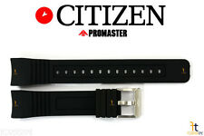 Citizen Eco-Drive BJ2120-07E 23mm Black Rubber Watch Band S062764 S061881