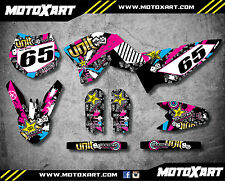 Full Custom Graphic Kit RUSH STYLE - KTM 65 SX 2009 - 2015 stickers, decals