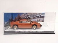 James Bond Diecast Car Collection - LOTUS ESPIRIT TURBO - FOR YOUR EYES ONLY