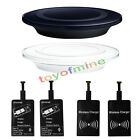 Universal Qi Wireless Charger Charging Pad+ Receiver Kit for Micro-USB Android