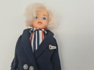 British Airways Air Stewardess Doll Vintage Rexard Dolls England
