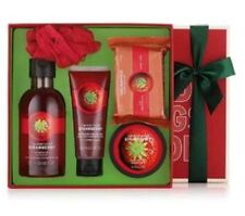 Body Shop Strawberry Shower Gel, Body Butter & Polish, Soap & Bath Lily Gift Set