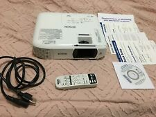 Epson Home Cinema 1060 1080p Full Hd 3Lcd Home Theater Projector - White