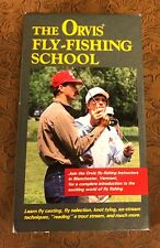 The Orvis Fly-Fishing School VHS Rare Instructional Video 1991