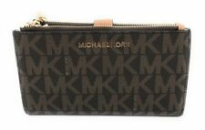 401d1ff411a8 Michael Kors Jet Set Travel Double Zip Wristlet - L, Brown/Acorn (35F7GTVW9B