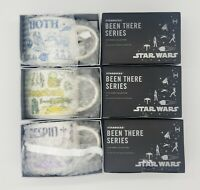 Star Wars Starbucks Been There Mugs Hoth Bespin Dagobah Set -May the 4th Release