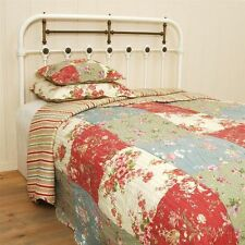Waschmaschinengeeignete Bettüberwürfe & Tagesdecken mit Blumenmuster
