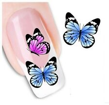 Nail Art Sticker Water Decals Transfer Stickers Butterflies (DX1212)