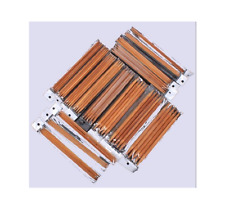 Double Pointed Carbonized Bamboo Knitting Kits Needles Set (2.0mm - 10.0mm)
