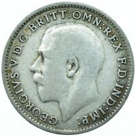 SILVER THREEPENCE GEORGE V. /CHOOSE YOUR DATE!      ONE COIN/BUY! #6