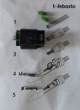 Gehause Kabelbaum Kabelsats Webasto Dosierpumpe DP41/42 connector Stecker AIRBAG
