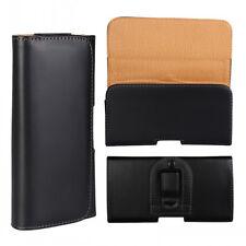 For Xiaomi Redmi Note 3 4 Black Tradesman Handyman Leather Belt Clip Case Cover