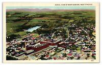 Aerial View of Martinsburg, WV Postcard *316