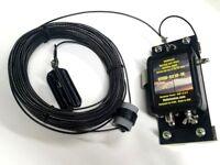 HF End Fed Antenna EFHW-8010-1K / Installation-plate  / LOW SWR/ 130 feet long