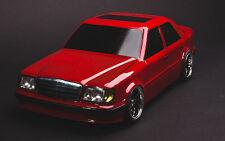 Drift RC Karo Mercedes Benz W124 1/10 body to fit Tamiya, LRP, HPI, Yokomo, MST