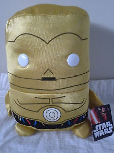 STAR WARS Movie- Licensed Star Wars C-3PO 25cm PLUSH SOFT TOY DOLL BRAND NEW