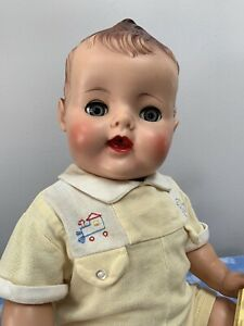 """Vintage 21"""" American Character Little Rickey Jr. Baby Doll, 1950's"""