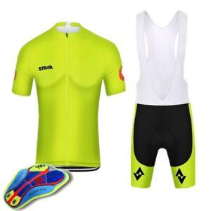 Men's Cycling Jersey Clothing Bicycle Sportswear Short Sleeve Bike Sets B050