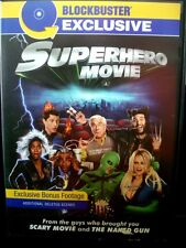 Superhero Movie Widescreen Blockbuster Exclusive DVD WORLD SHIP AVAIL!