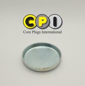 47mm Cup type core plug - CR4 Zinc Plating - British Steel BS1449