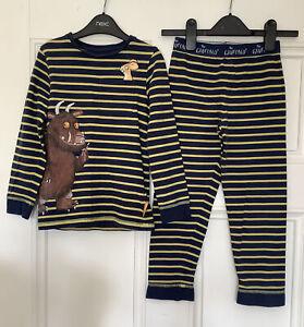 Gruffalo M&S Boys 6-7 Pyjama Set Long Sleeves And Bottoms Vgc