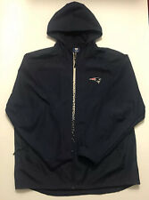 New England Patriots Reebok NFL On Field 2XL Jacket Hood/2 Zip Pockets