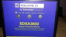 Square D Sdsa 3650 surge Lógica dispositivo de proteção contra surtos-Novo Retir