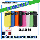 HOUSSE COQUE SAMSUNG GALAXY S4 RABAT FENÊTRE COVER FLIP S-VIEW + Film Protection