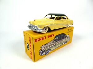 Buick Roadmaster Jaune toit vert - 1/43 DINKY TOYS Voiture miniature 24V (MB102)