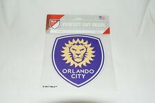 "Orlando City SC MLS PERFECT CUT DECAL 6""X6"""