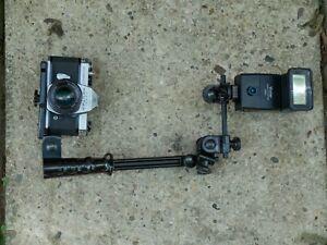 """Siegelite Plastic m660 Zoom Adjustable Camera Flash Bracket 12-21"""""""
