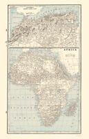 Africa Northwest - Rathbun 1893 - 23.00 x 35.72