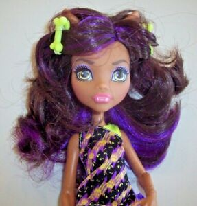 Monster High Doll ~ Monster Family Clawdeen In Pajamas With Slippers