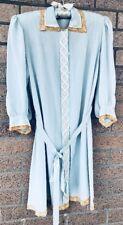 Gorgeous Vtg Saks Fifth Avenue 100% Silk Robe Sz Small