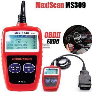 MS309 OBD2 Scanner Diagnostic Code Reader New MaxiScan Car Diagnostic Tool