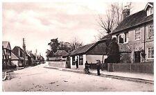 Postcard Godstone High Street Surrey Early Card Edwardian Boy on Bike 18