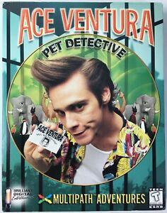 Ace Ventura Pet Detective Multipath Adventures 1998 PC CD-Rom Big Box Game - New