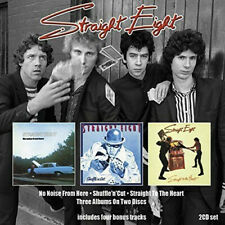 Straight Eight - No Noise From Here/Shuffle 'n' Cut/Straight To Heart (2CD)  NEW