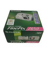 FujiFilm FinePix Digital Camera 2650 with 3x Optical Zoom