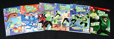 Green Lantern The Animated Series #0,1,2,3,8,10 Signed #1 w/COA Artist & Writer