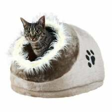 Trixie Minou Cuddly Cat Cave Bed Grey